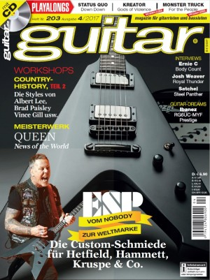News Of The World in guitar-Magazin