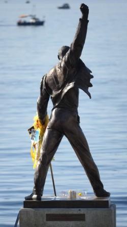 Foto Freddie Mercury Statue