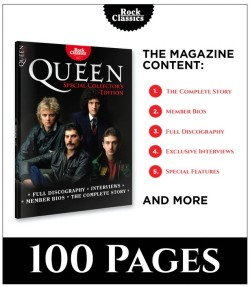 """Erfolgreiche Kampagne Rock Classics: """"QUEEN"""" - Special Collector's Issue"""