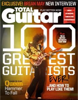 Brian May ist die Nummer 1 bei Total Guitar