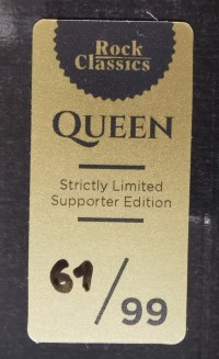 Rock Classics Queen Special Collector's Edition - Sticker