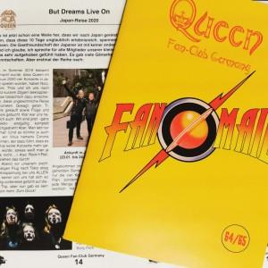 Fan-Mail Doppelausgabe Nr. 64-65 ist erschienen