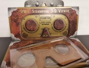Steampunk Owl im Marktplatz