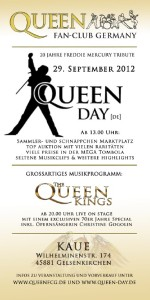 Flyer Queen Day 2012