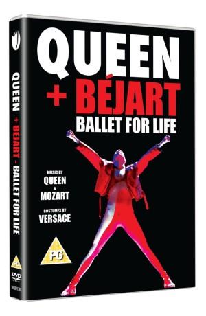 Queen + Béjart: Ballet For Life - DVD Packshot