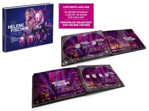 Die Helene Fischer Show – Meine schönsten Momente Vol.1 - Packshot 2CD, DVD + Blu-ray