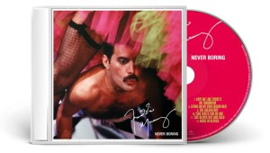 Freddie Mercury: Never Boring - CD Packshot