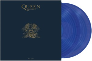 Greatest Hits II (blaues Vinyl) - Packshot
