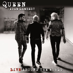 Queen + Adam Lambert: Live Around The World - Cover Art