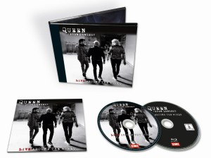Queen + Adam Lambert: Live Around The World - Blu-ray