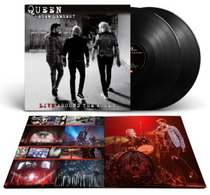 Queen + Adam Lambert: Live Around The World - LP schwarz