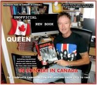 Queen In Concert In Canada - Gary Taylor