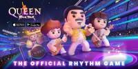 Queen Rock Tour - Poster breit mit Appstore-Logos