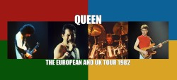 Queen: The European And UK Tour 1982 - Header