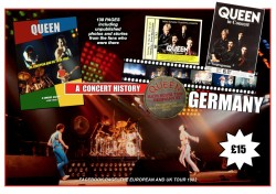 Queen: The European And UK Tour 1982 - Promo