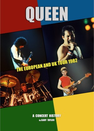 Queen: The European And UK Tour 1982 - Cover